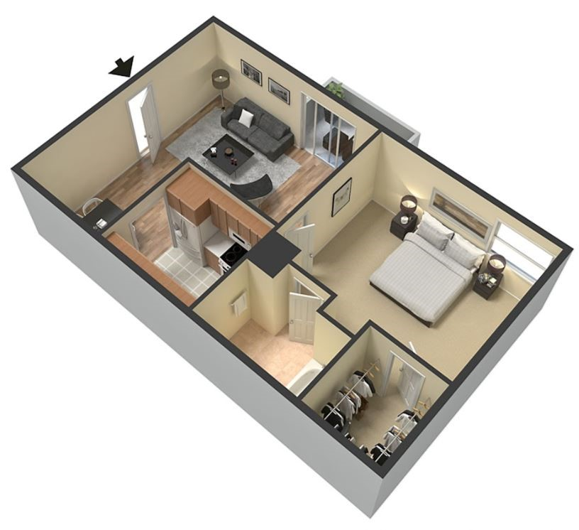 1 And 2 Bedroom Apartments For Rent In Denton, TX