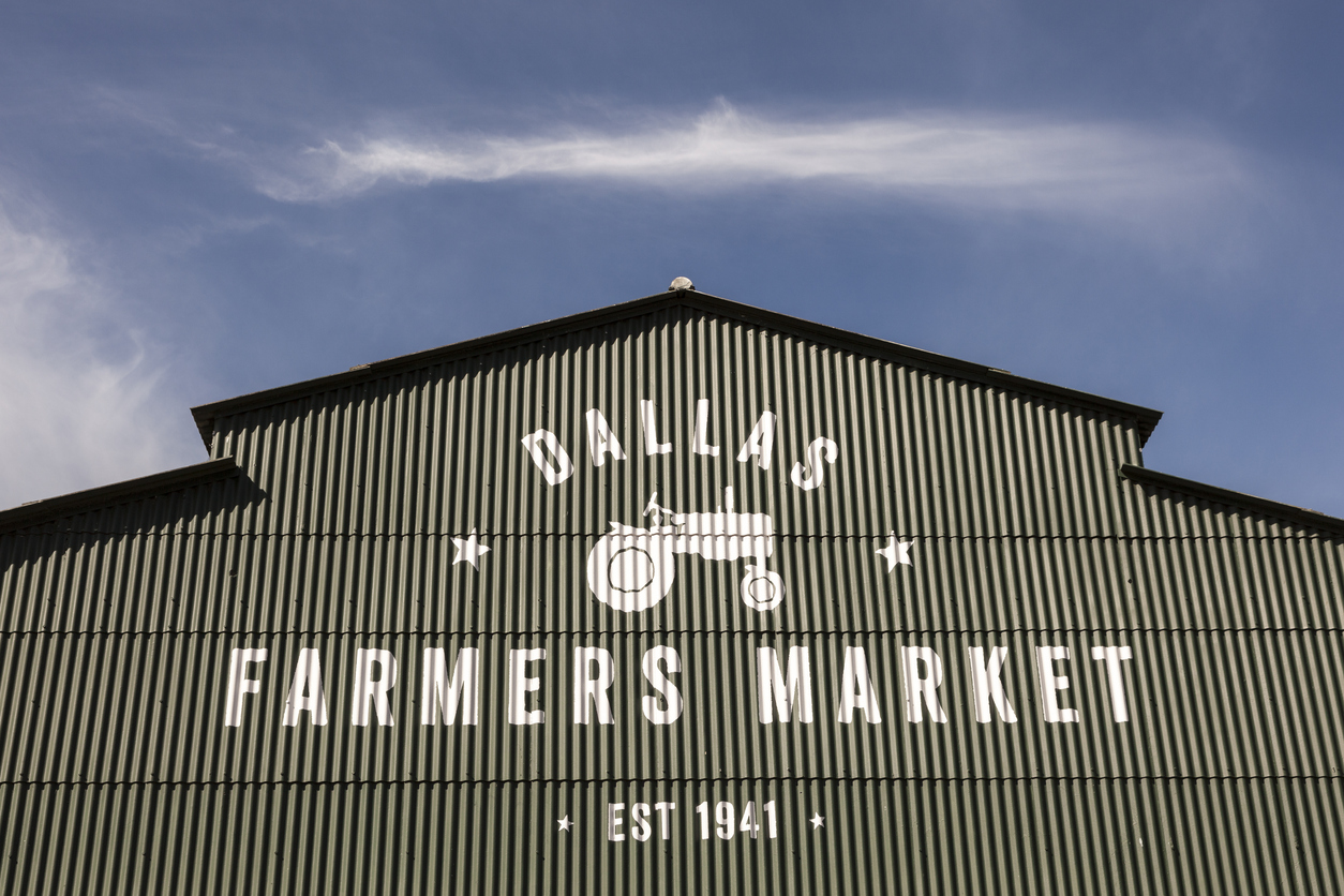 Inside the Shed at Dallas Farmers Market