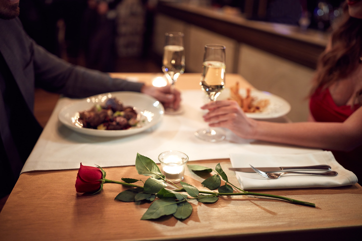 VALENTINE'S DAY AT COOL RIVER CAFE