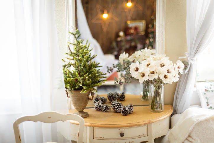 Yes, You Can Totally Fit These 7 Faux Christmas Trees in a Small Space
