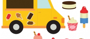 Free Ice cream truck ...