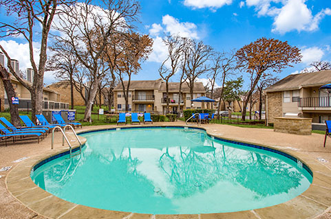 Apartments with amenities in Forth Worth, TX