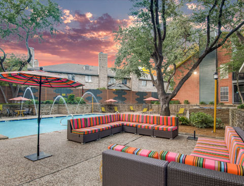 Luxurious amenities in North Dallas TX