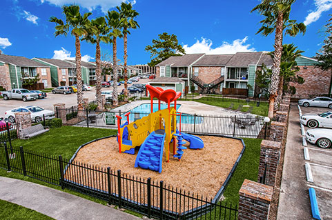 Apartments with amenities in Houston, TX