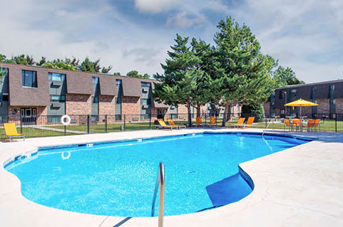 Apartments with amenities in Amarillo, TX.