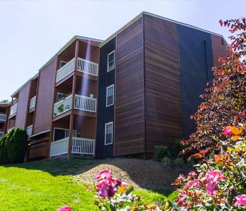 Apartment complex in Lexington, KY