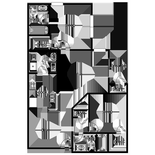 Two bedroom apartment for rent in Oakwood, GA