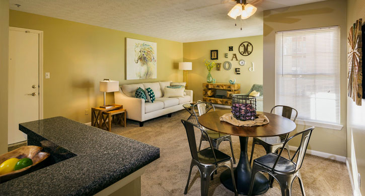 Two bedroom apartments in Lexington, KY
