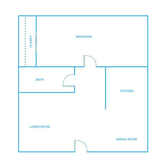 1 Bedroom Apartment in Austin | 650 sq. ft.