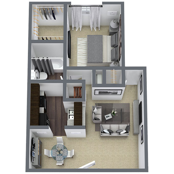 https://apartmentnetwork.org/seo/files/floorplans/1 bedroom apartment in Lake Highlands, TX | 548 Sq. ft.