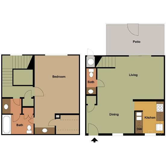 1 Bedroom apartment for rent in Bedford, TX | 940 sqft