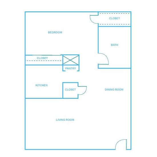 1 Bedroom Apartment in North Austin | 680 sq. ft.