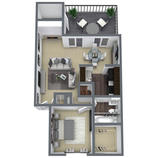 https://apartmentnetwork.org/seo/files/floorplans/1 bedroom apartment in Lake Highlands, TX | 756 Sq. ft.