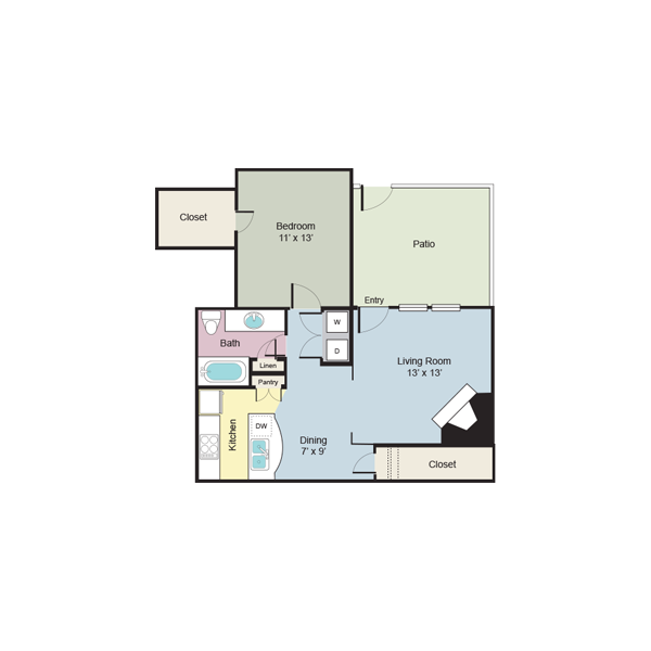 https://apartmentnetwork.org/seo/files/floorplans/A5 - One bedroom / one bathroom apartment 730 Sq.Ft. in Plano