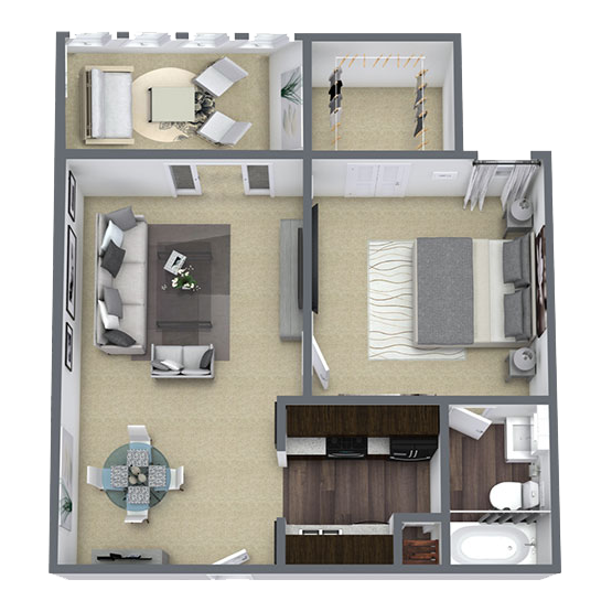 https://apartmentnetwork.org/seo/files/floorplans/One bedroom apartment in Lake Highland (919 Sq. ft.)