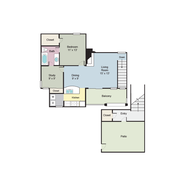 https://apartmentnetwork.org/seo/files/floorplans/A8 -  892 square feet one-bedroom apartment, Plano TX