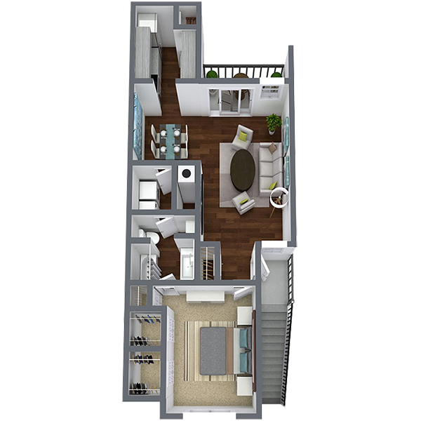 https://apartmentnetwork.org/seo/files/floorplans/1 Bedroom 1 bath Apartment in Dallas Texas | 800 Sq. Ft.