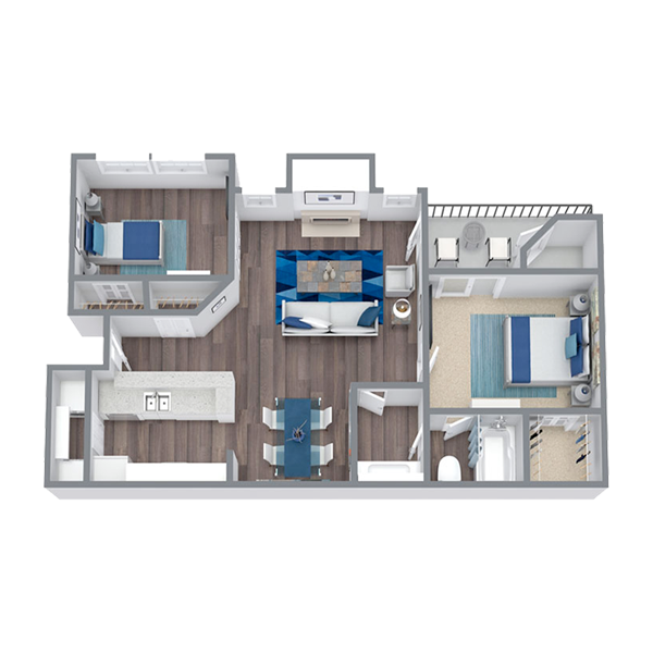 https://apartmentnetwork.org/seo/files/floorplans/2 Bedroom Apartment for rent in Las Colinas, TX | 882 Sq. Ft.