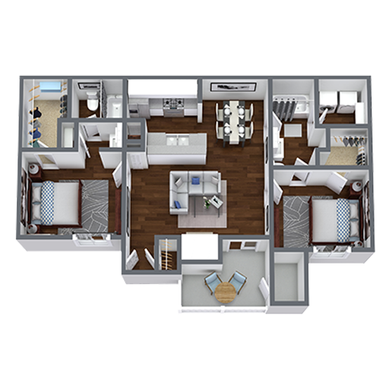 https://apartmentnetwork.org/seo/files/floorplans/2 Bedroom apartment for rent in Fort Worth, TX | 951 Sq. Ft.