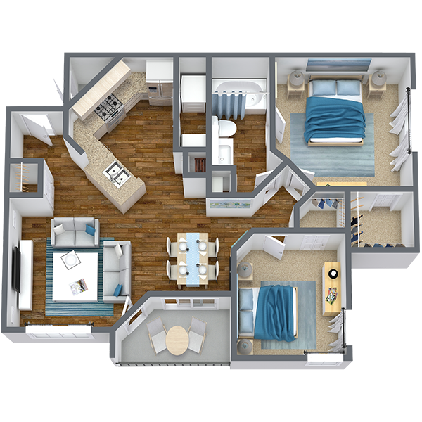 https://apartmentnetwork.org/seo/files/floorplans/2 Bedroom for Rent in Haltom City, TX | 838 Sq Ft
