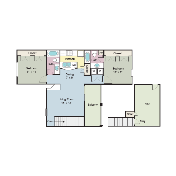 https://apartmentnetwork.org/seo/files/floorplans/2 bedroom apartment for rent in Plano, TX. | 965 Sq.Ft.