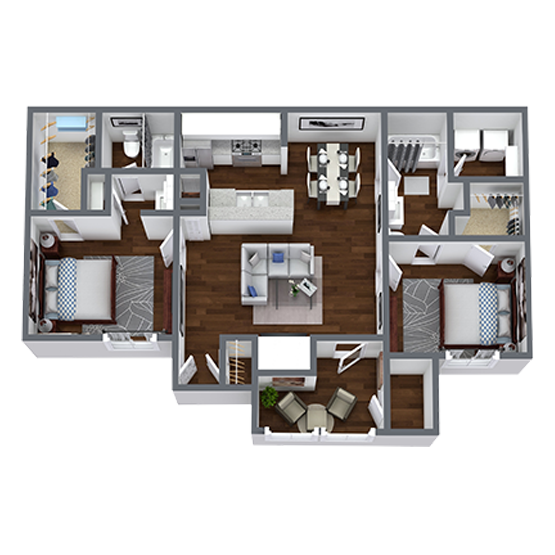 https://apartmentnetwork.org/seo/files/floorplans/2 Bedroom apartment for rent in Fort Worth, TX | 1,052 Sq. Ft.