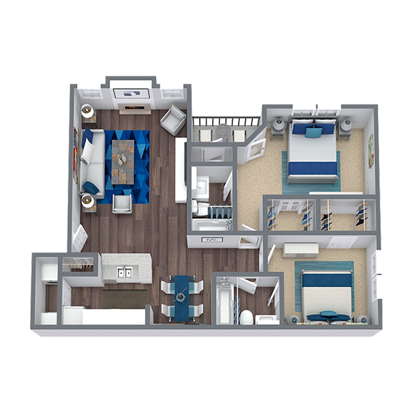 https://apartmentnetwork.org/seo/files/floorplans/2 Bedroom Apartment for rent in Las Colinas, TX | 1,128 Sq. Ft.