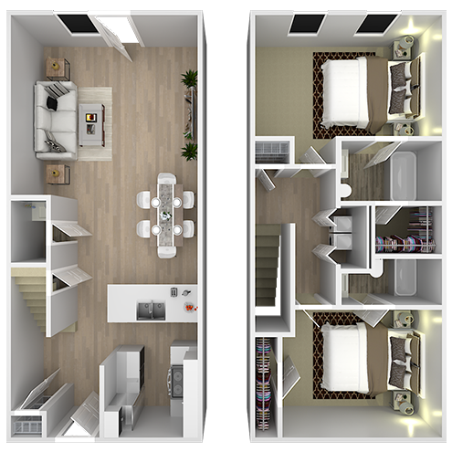 Two bedroom apartment in North Augusta | Irons