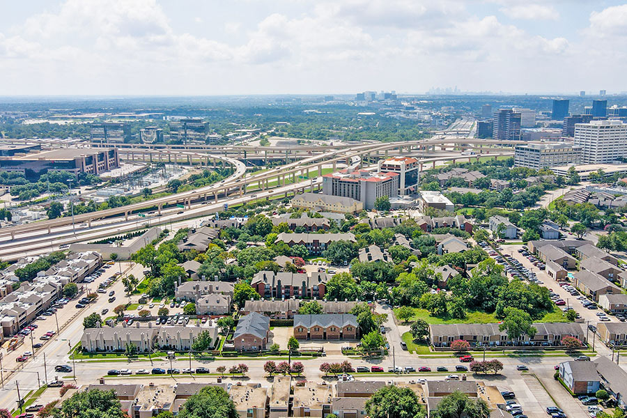 easy access to I-35, I-635, and US-75