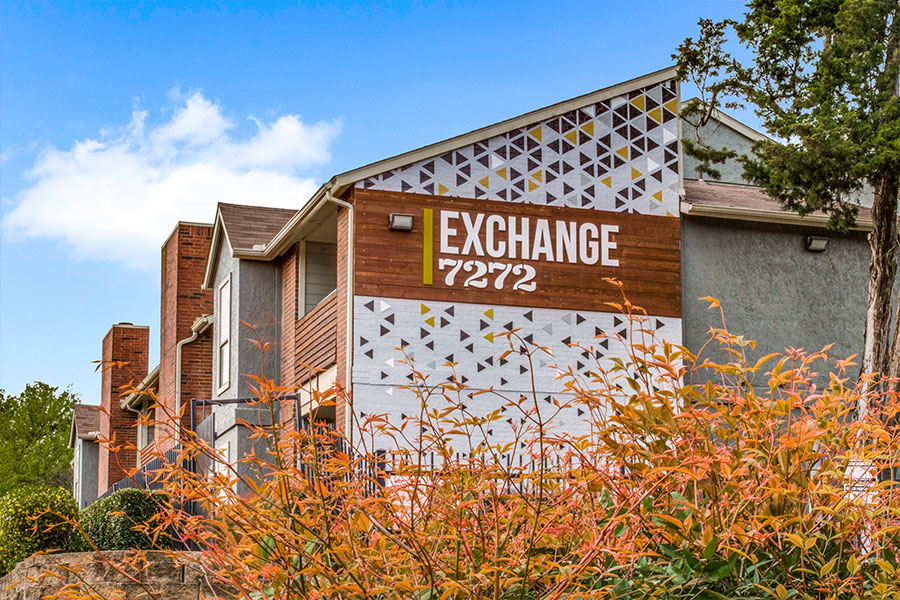 Exchange 7272 is located in Oak Cliff, a portion of Dallas, Texas