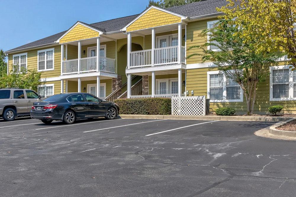 ample parking spaces apartments