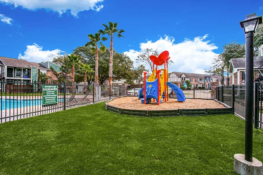 a playground for the little ones to have fun time