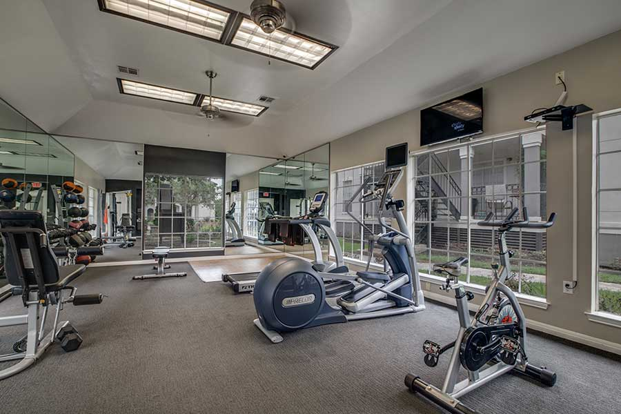 virtual cardio and strength equipment.