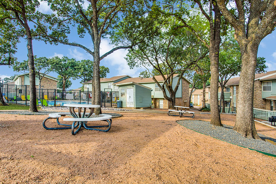 a picnic area that adds to the relaxation we encourage