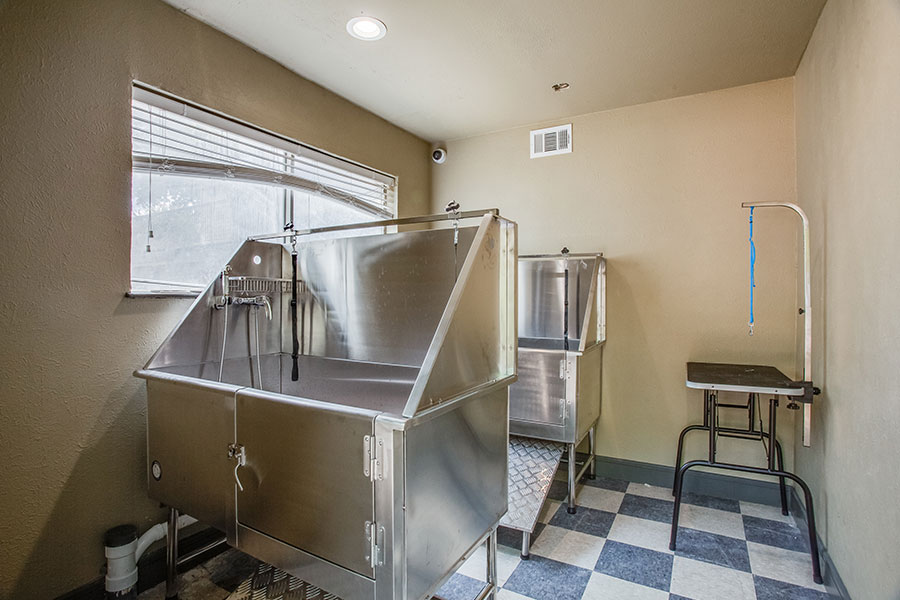 Pet-Friendly Community with Pet Washing Stations