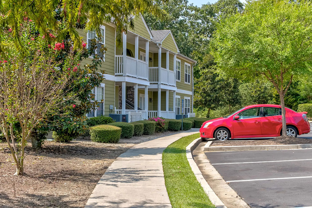 Throughout our community, you'll find lush, green landscaping