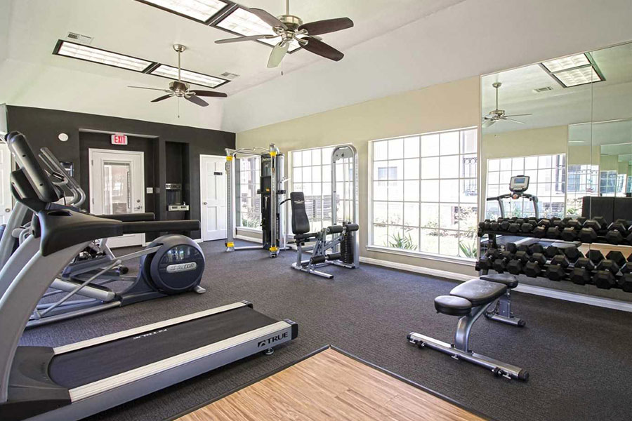 Our state-of-the-art fitness center is like no other.