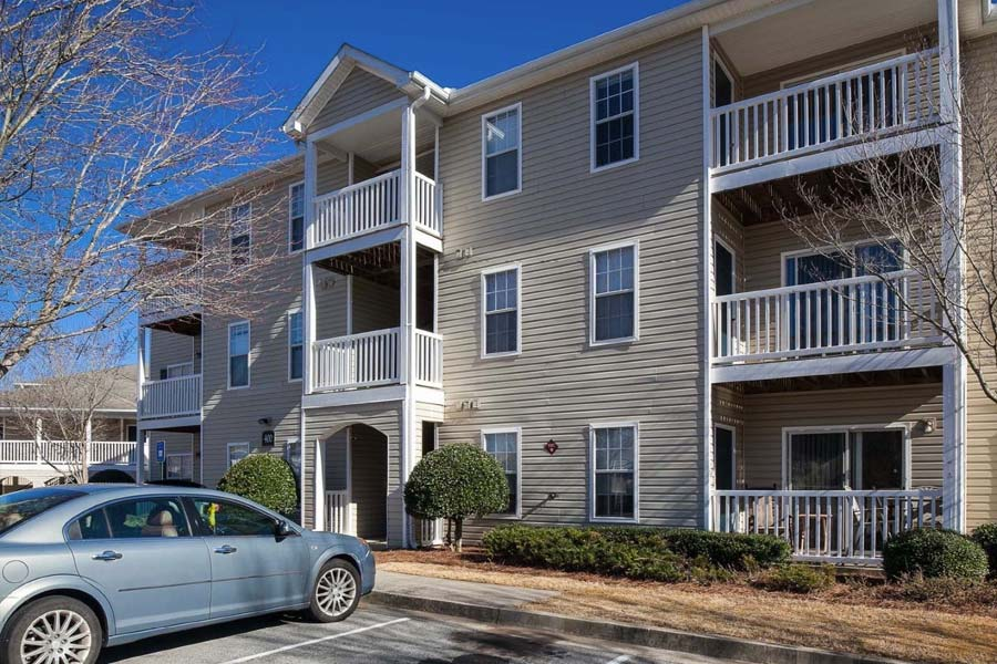 With easy access to I-85 and Lanier Pkwy
