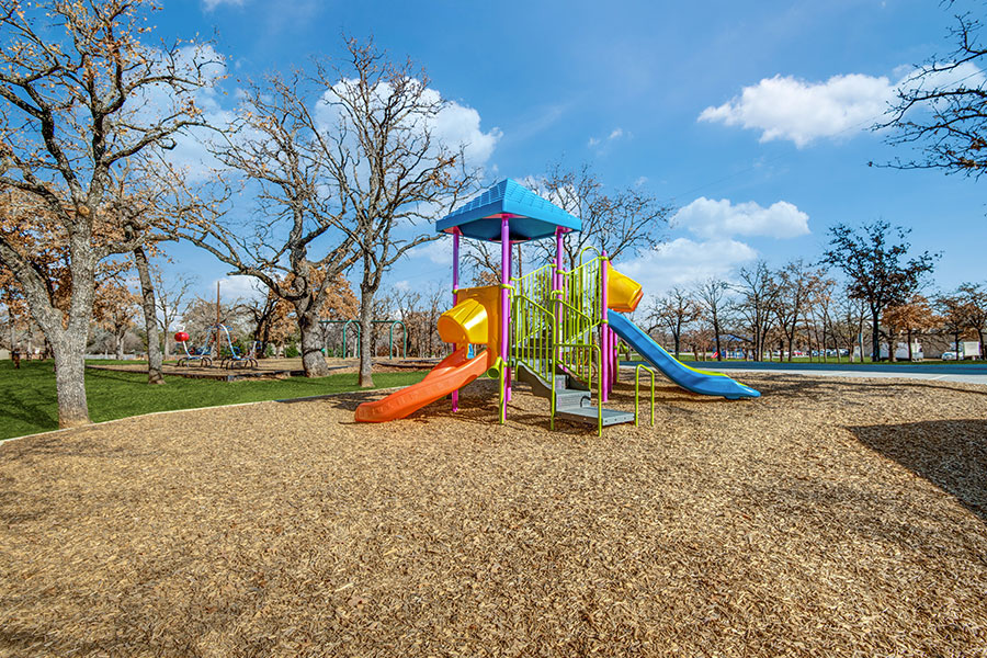 Your kids will love our playground and you'll love watching them.