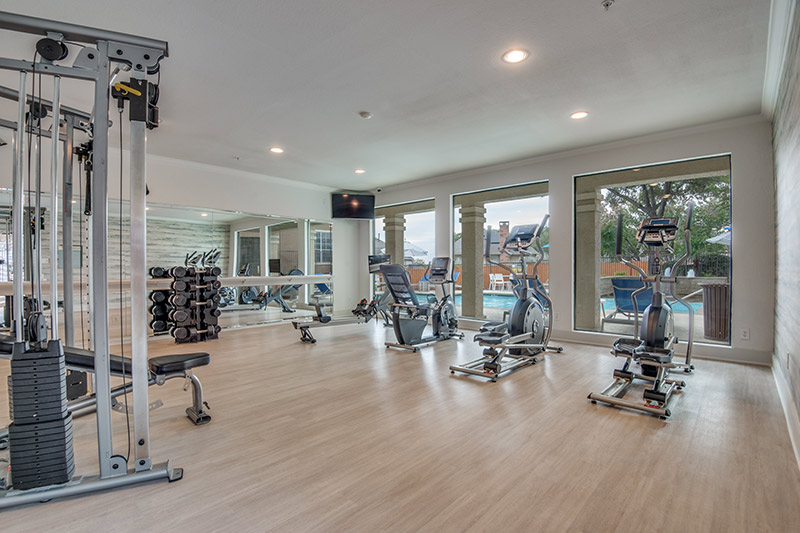 24-Hour Fully-Equipped Fitness Center