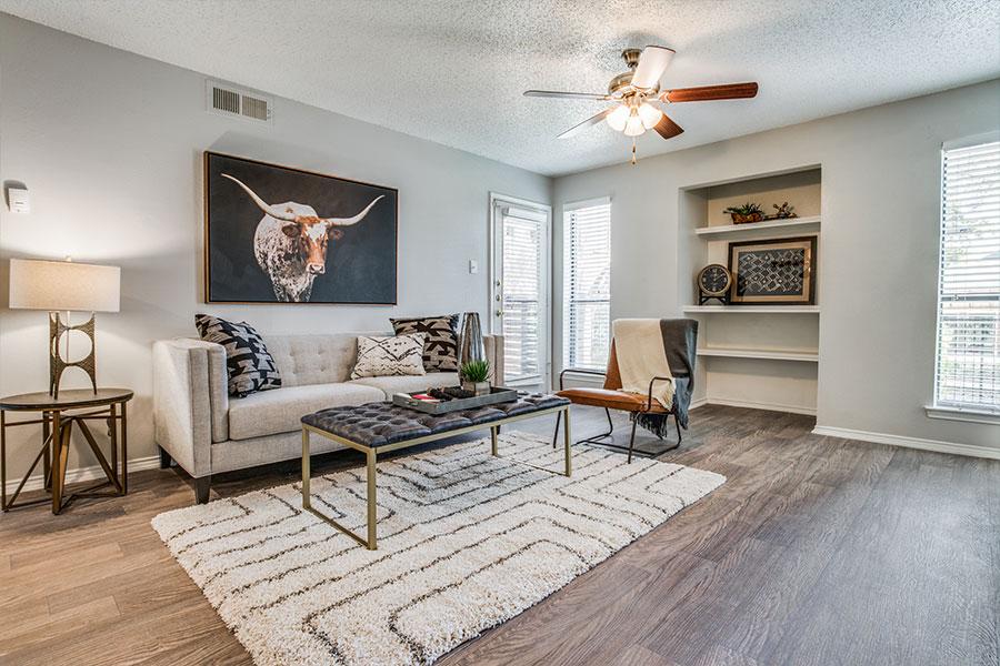 Spacious apartment homes