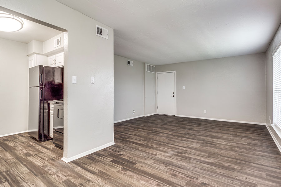 wide-open living space