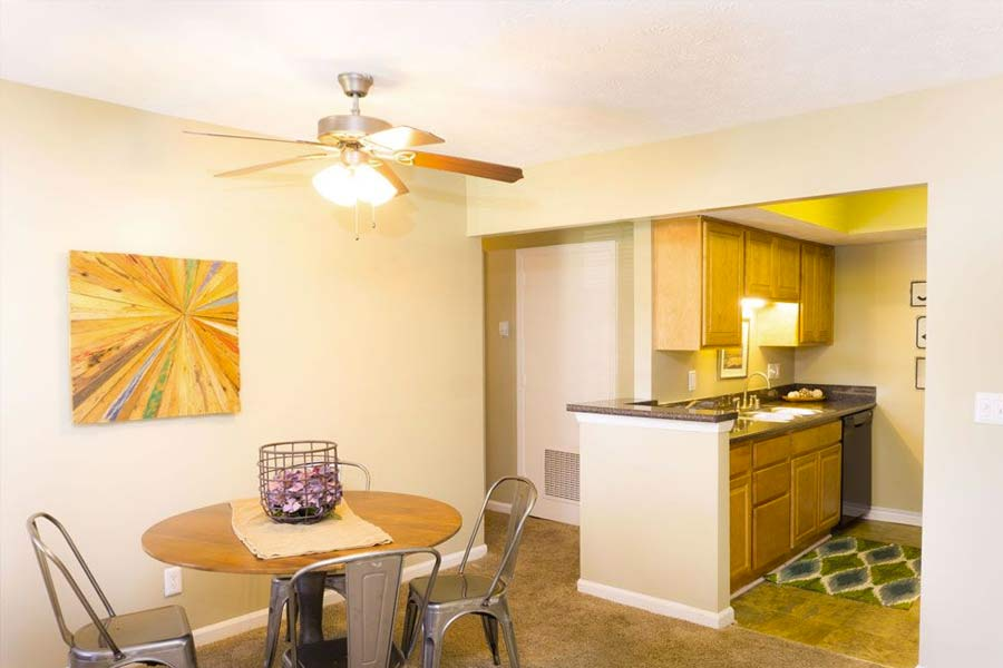 Apartments with open-concept in Lexington KY