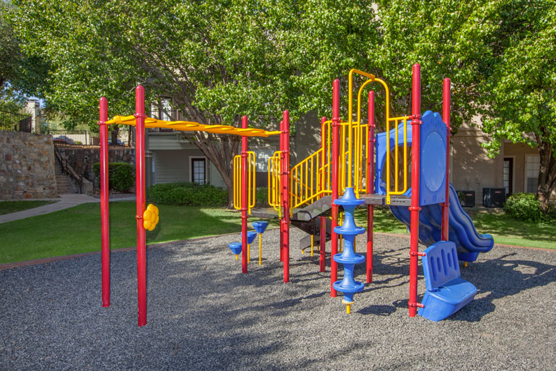 A playground for the little ones