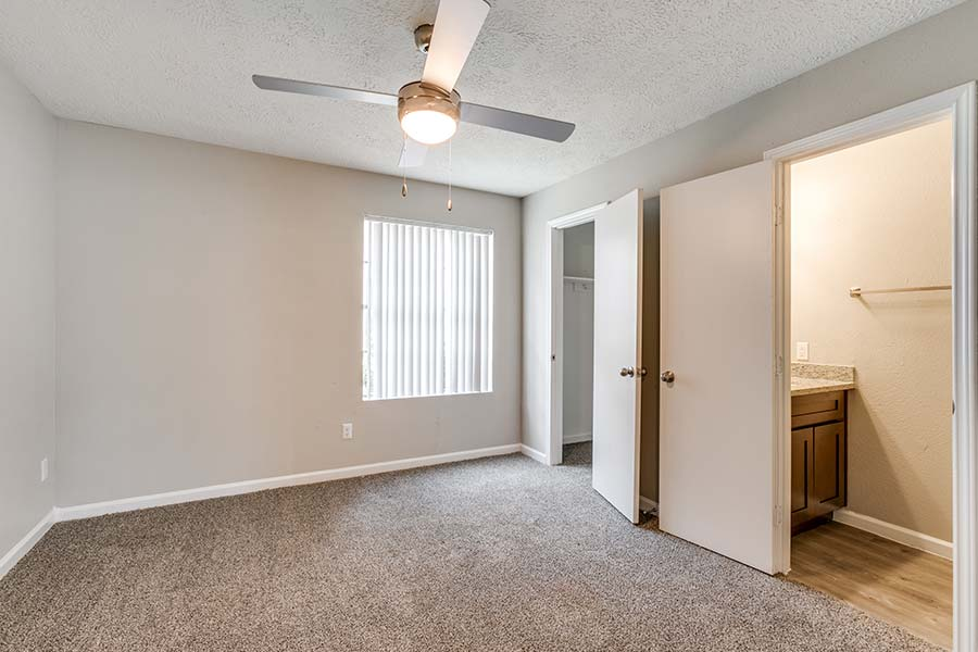 Inside you'll love the spacious closets