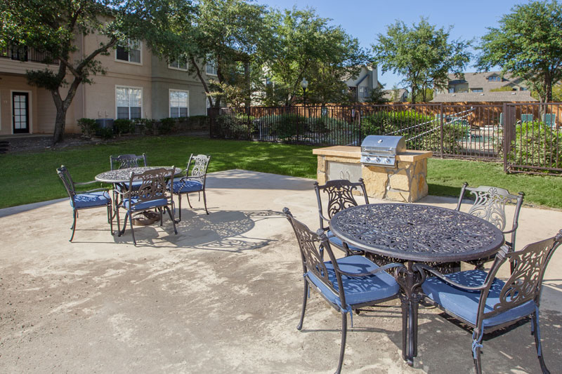 Grilling and picnic areas