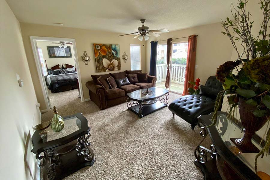 Take a tour inside our 2 bedroom floor plan and you'll notice plenty of convenient upgrade