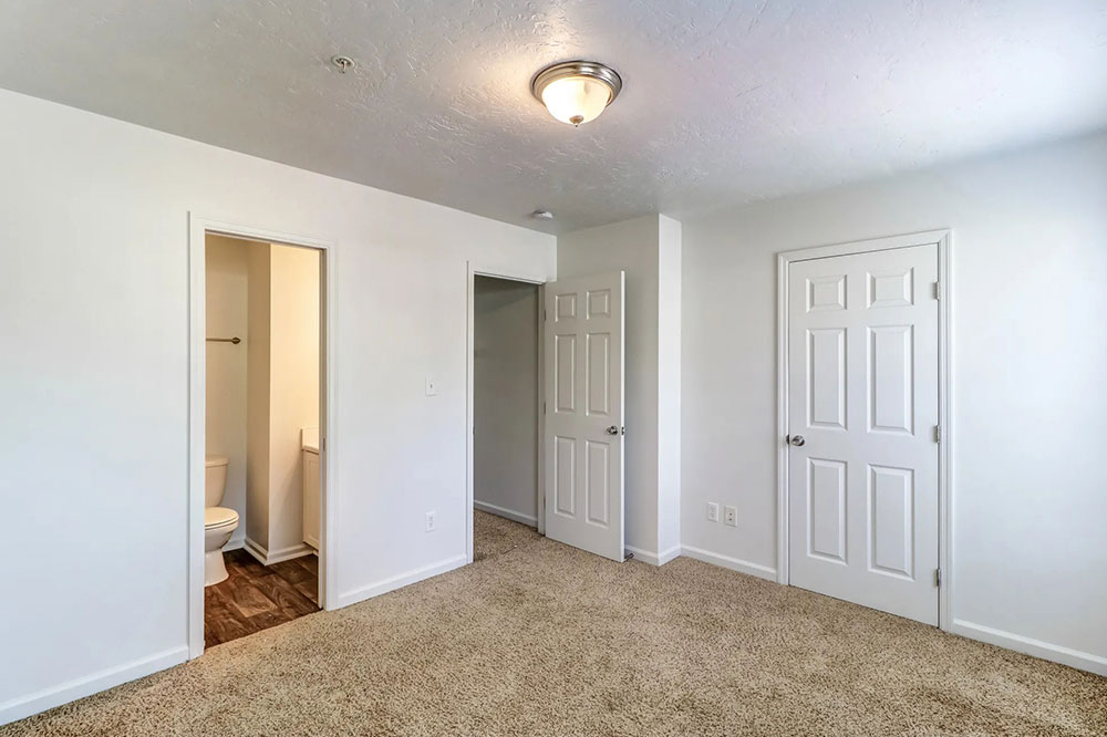 one bedroom and two bedroom apartments