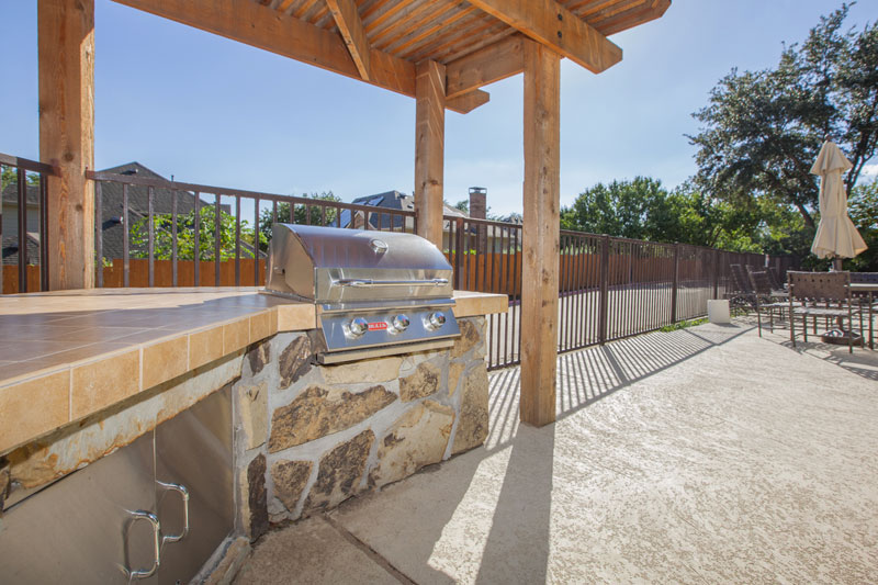 Enjoy your nights grilling in the picnic area