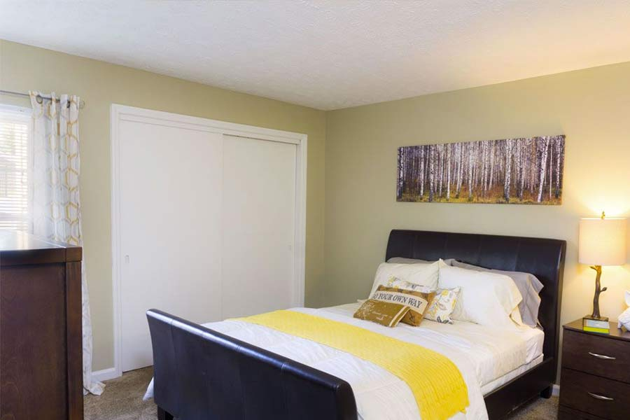 Browse our one and two bedroom floor plans in Lexington